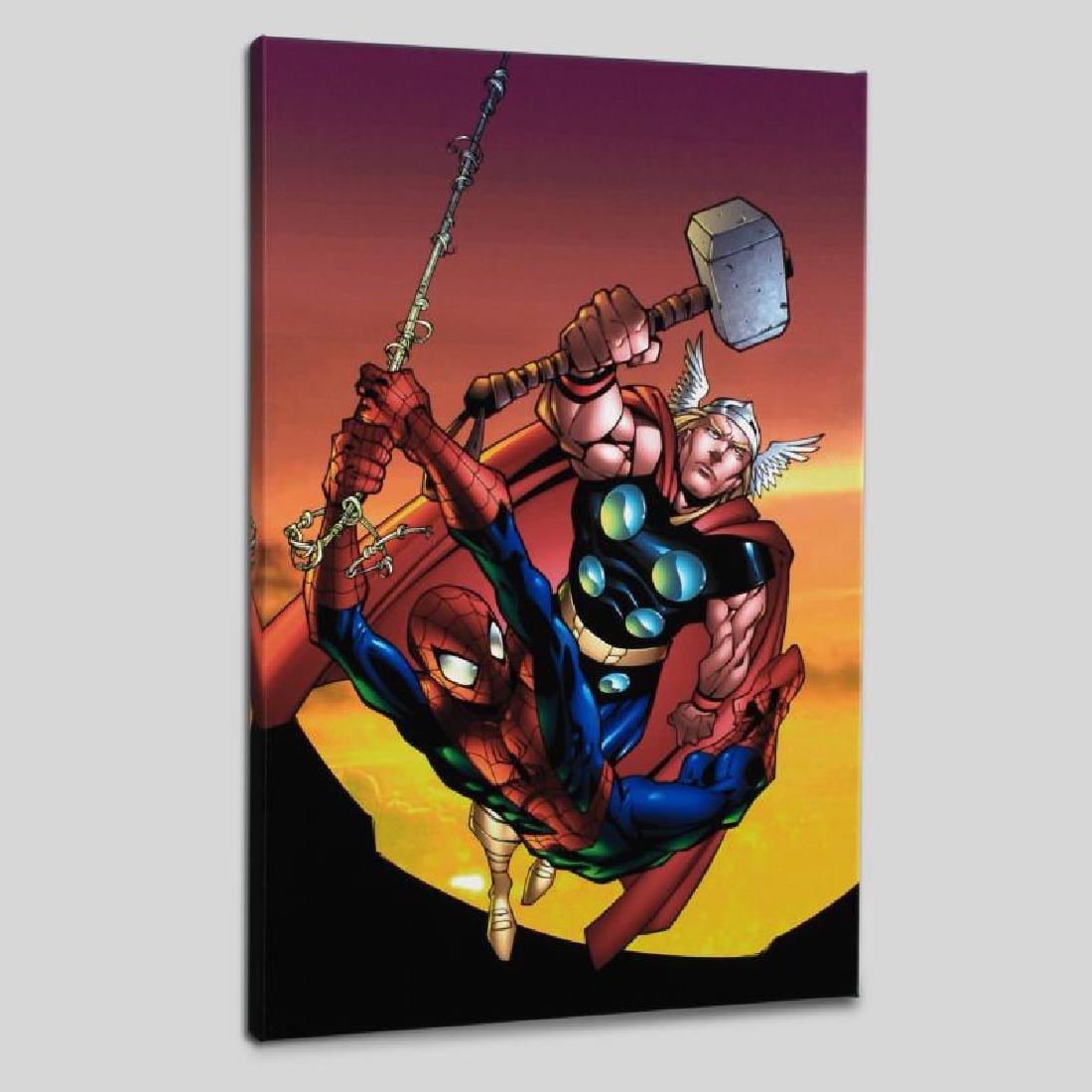 """Marvel Age Spider-Man Team Up #4"" Limited Edition - 2"