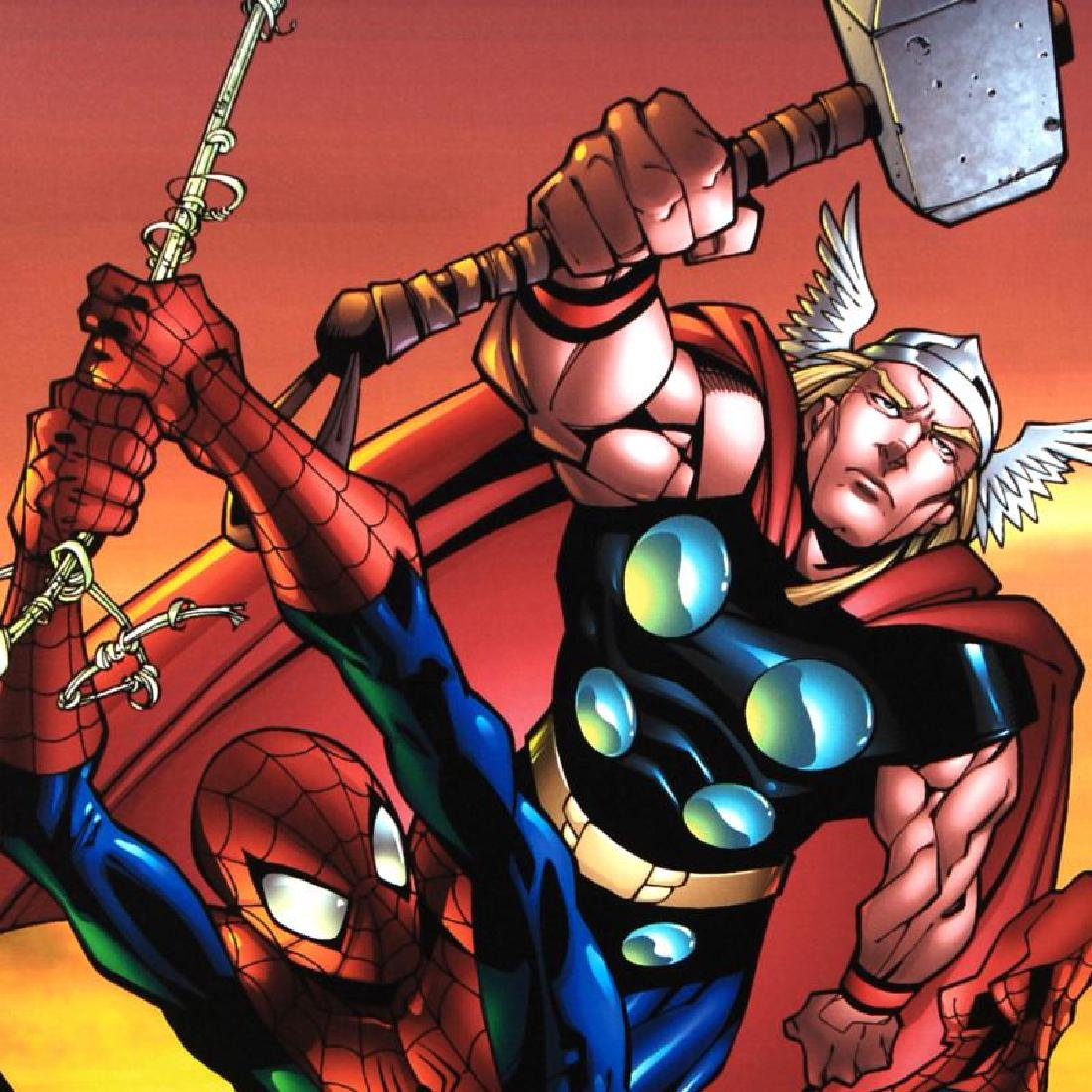 """Marvel Age Spider-Man Team Up #4"" Limited Edition - 5"