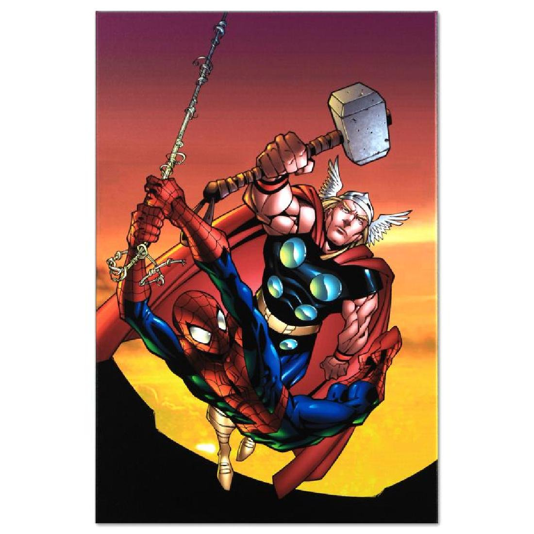 """Marvel Age Spider-Man Team Up #4"" Limited Edition - 6"