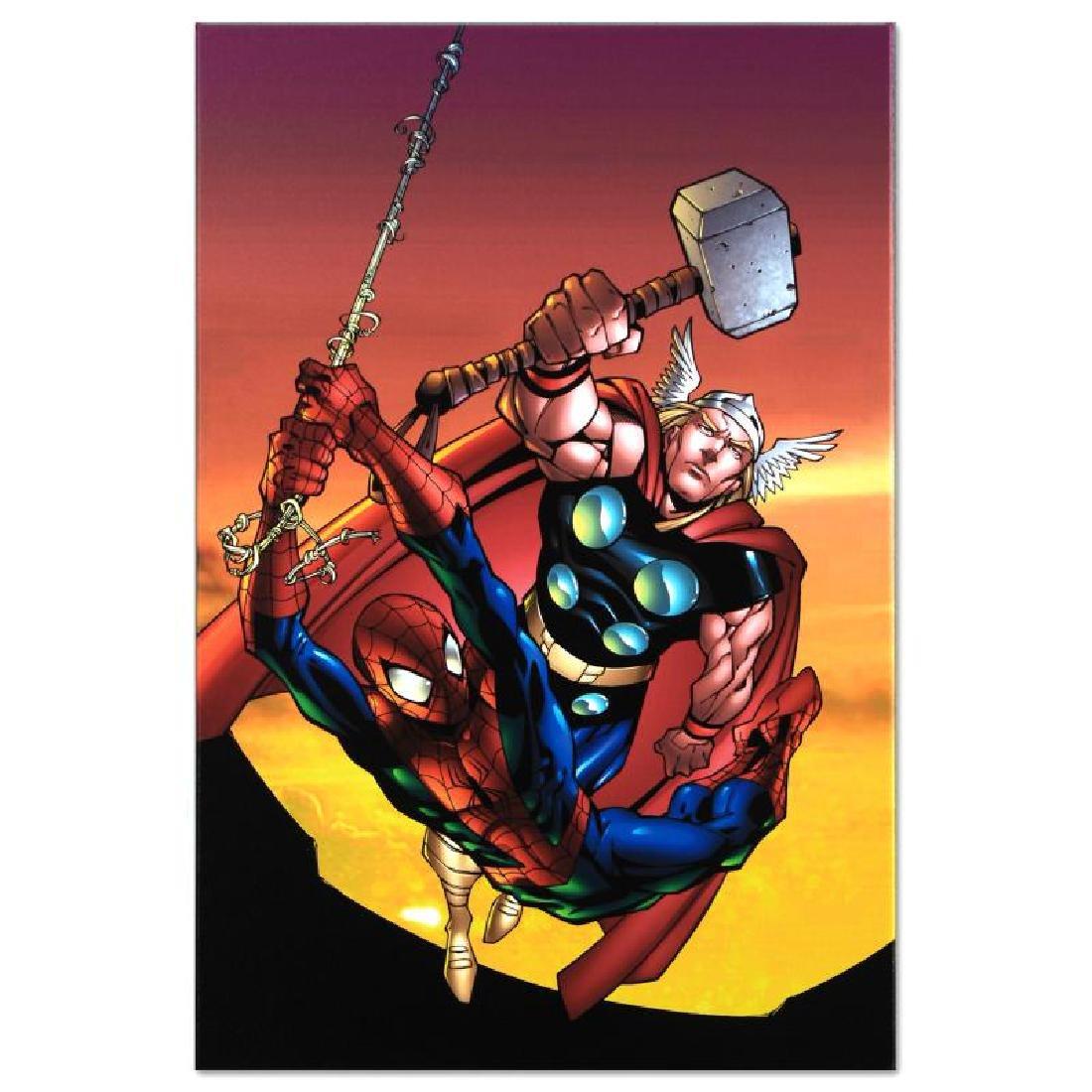 """Marvel Age Spider-Man Team Up #4"" Limited Edition - 6"