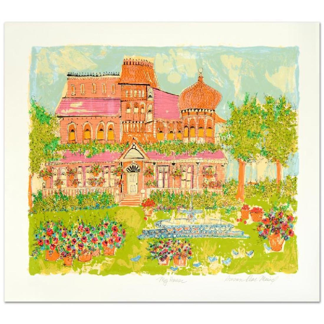 """My House"" Limited Edition Serigraph by Susan Pear"