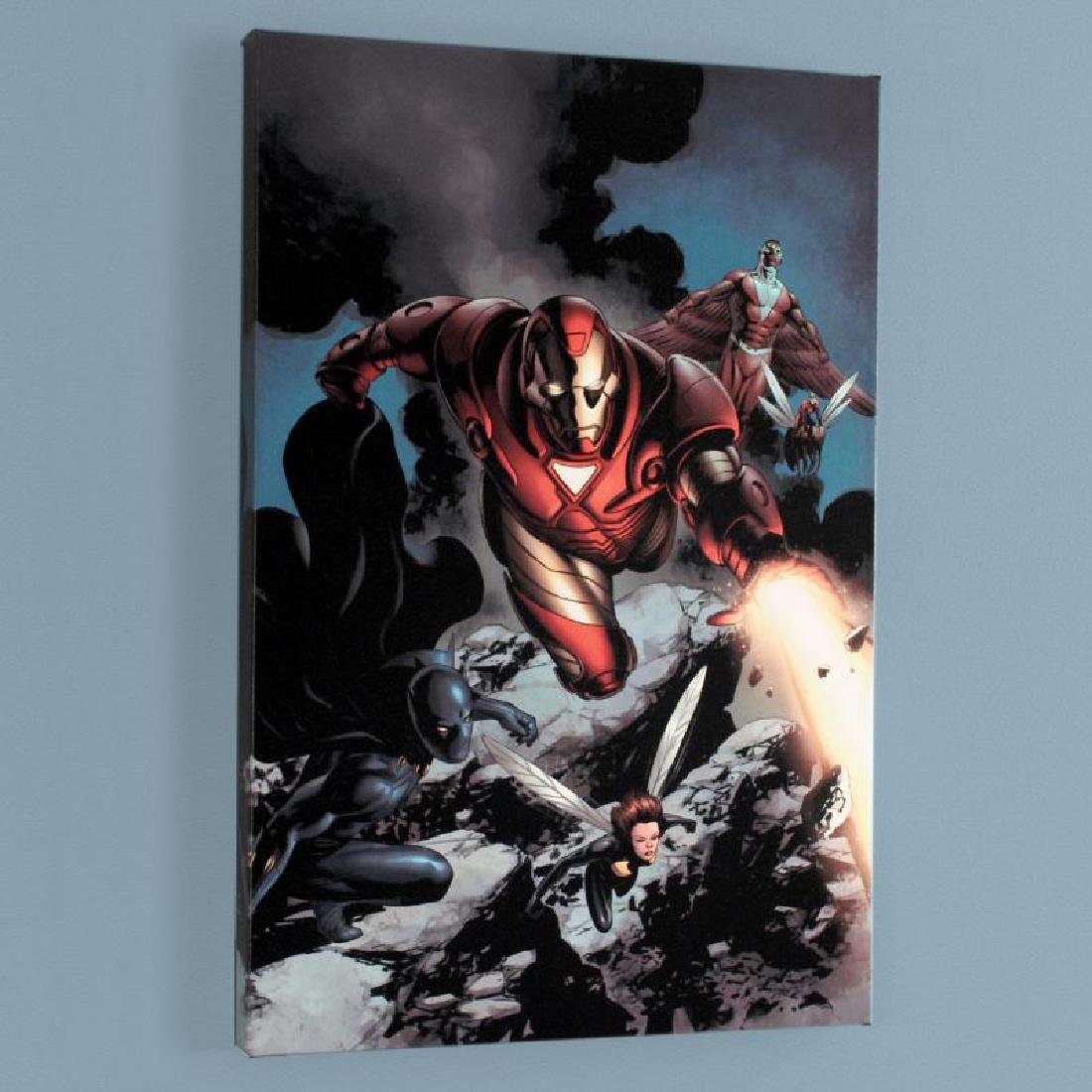 """""""Iron Man #85"""" Limited Edition Giclee on Canvas by"""