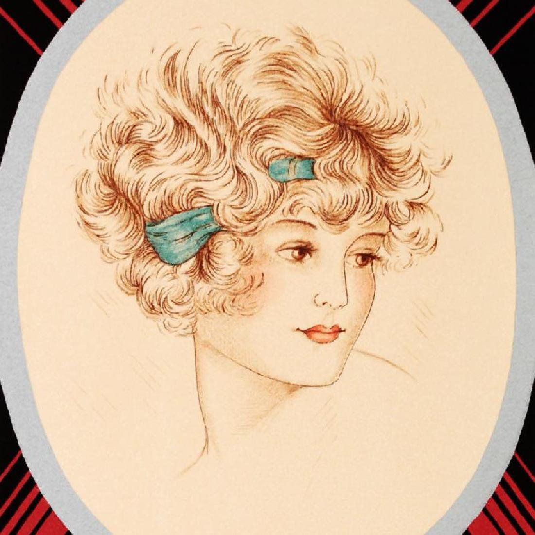 """""""Rimmel-Lotion Vanda"""" Hand Pulled Lithograph by the RE - 2"""