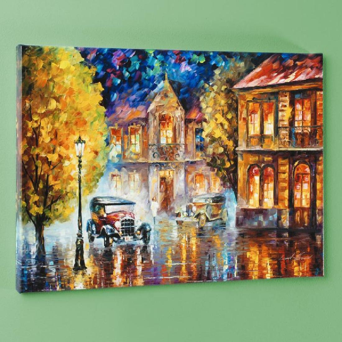 Los Angeles 1930 LIMITED EDITION Giclee on Canvas by - 3