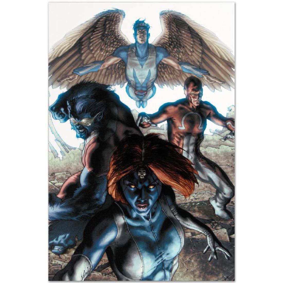 """Dark X-Men #1"" Limited Edition Giclee on Canvas by - 5"