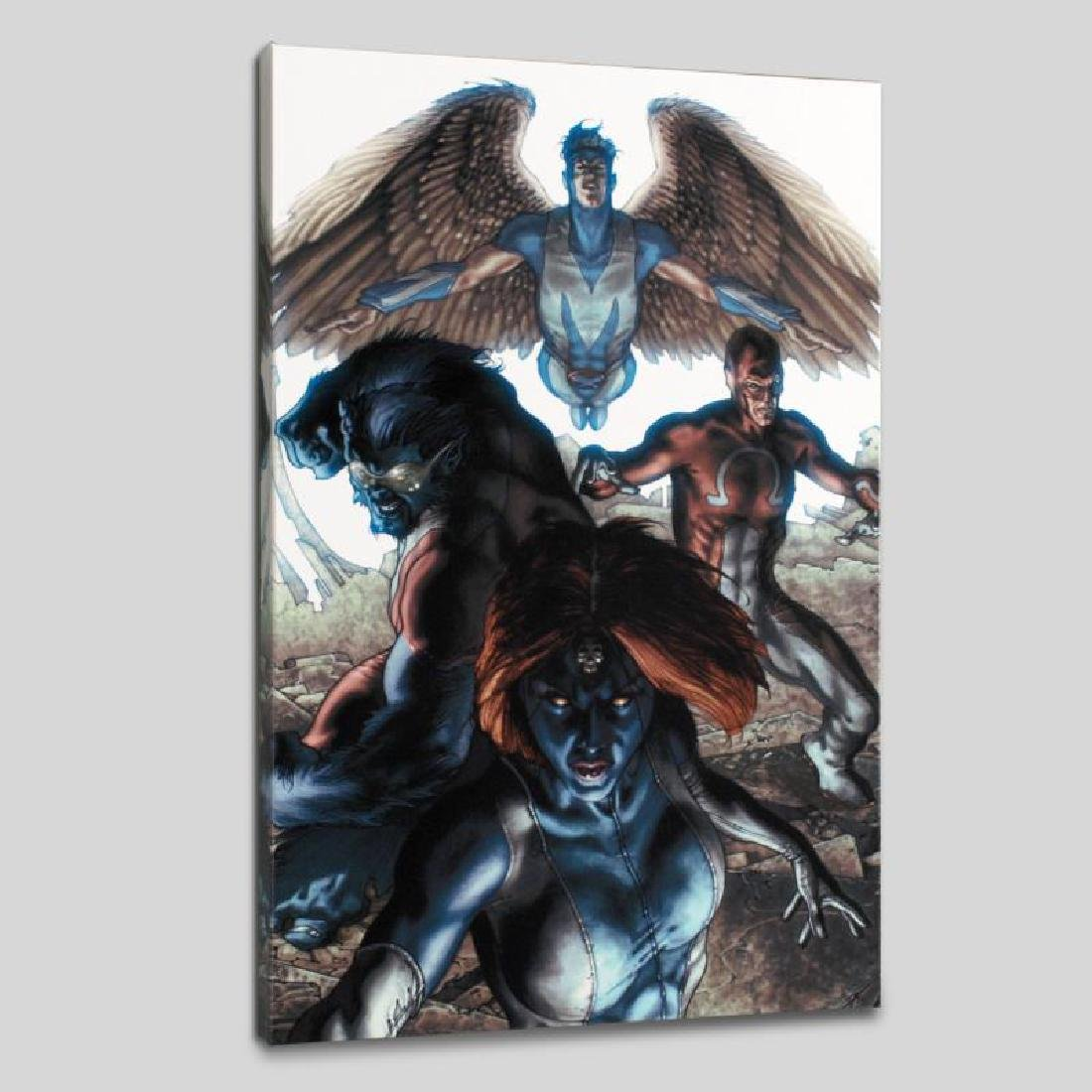 """Dark X-Men #1"" Limited Edition Giclee on Canvas by - 6"