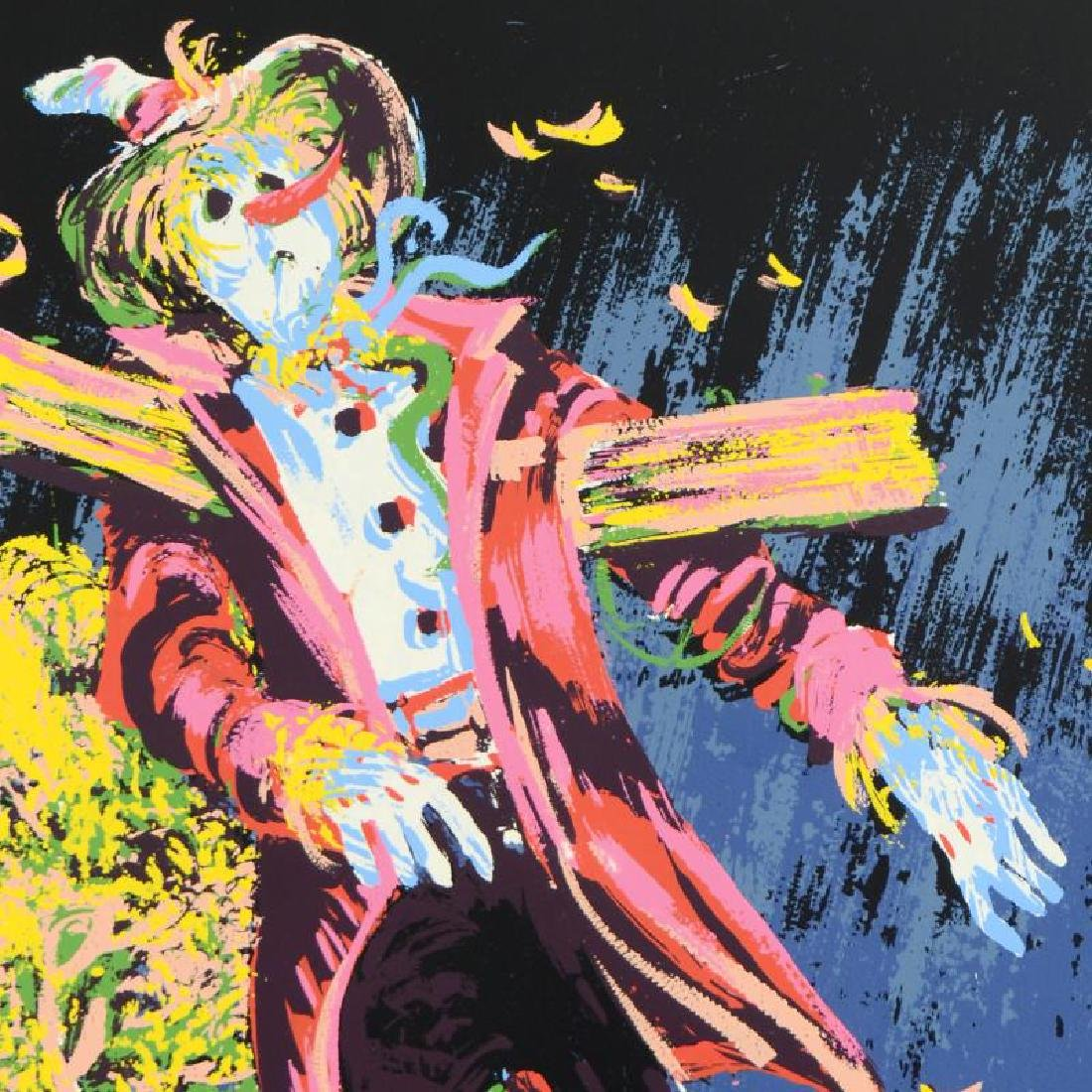 Scare Crow Limited Edition Serigraph by Paul Blaine - 4