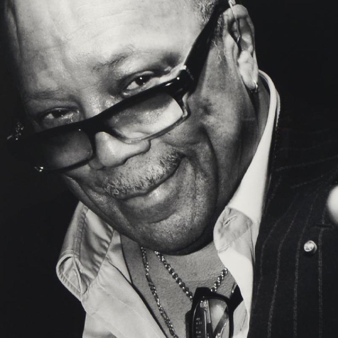 """Quincy Jones"" Limited Edition Giclee by Rob Shanahan - 4"