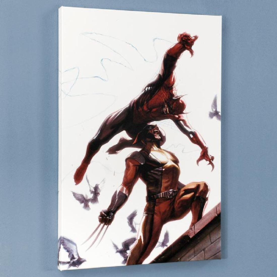 """""""Secret Invasion #7"""" Limited Edition Giclee on Canvas"""