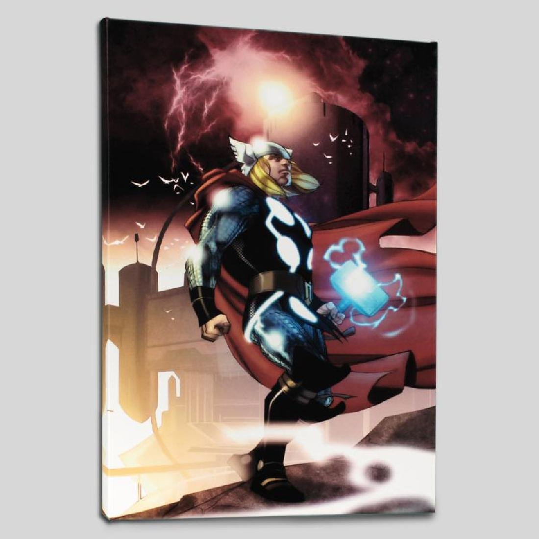 """Thor #615"" Limited Edition Giclee on Canvas by Joe"