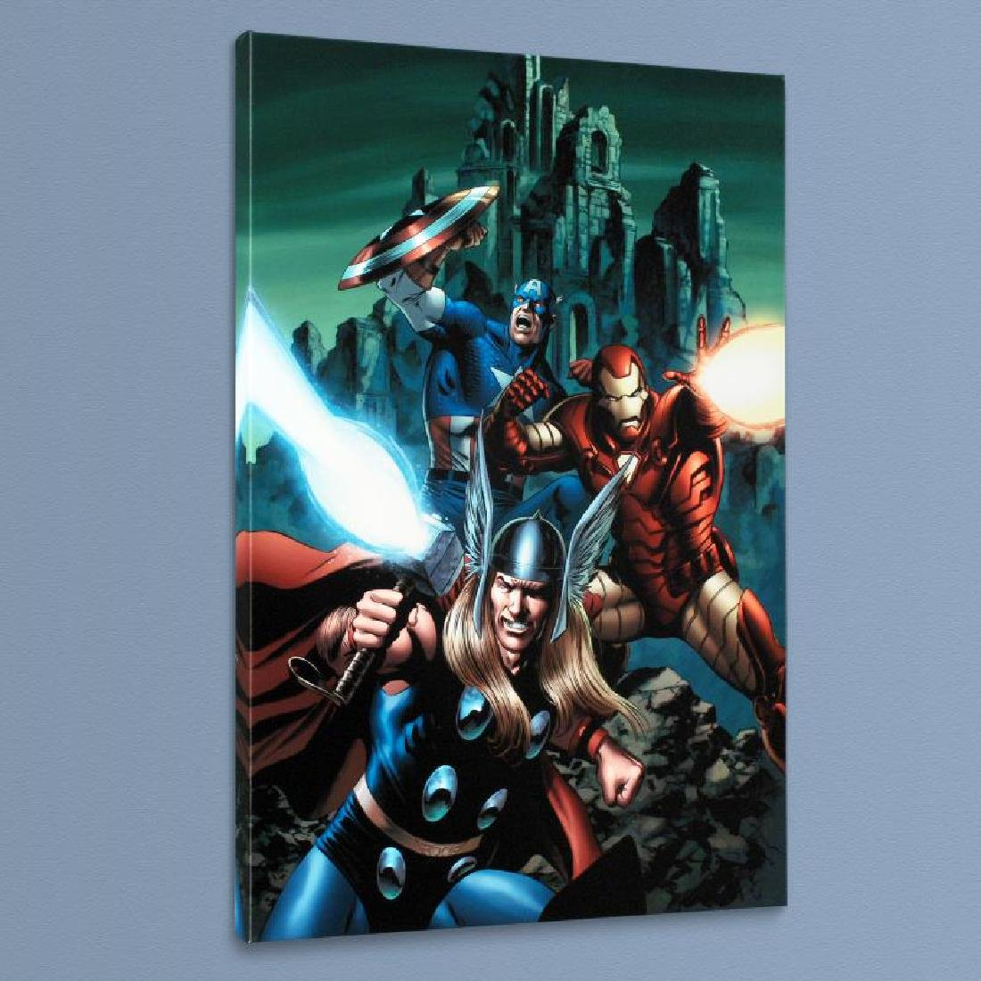 """Thor #81"" Limited Edition Giclee on Canvas by Steve - 4"