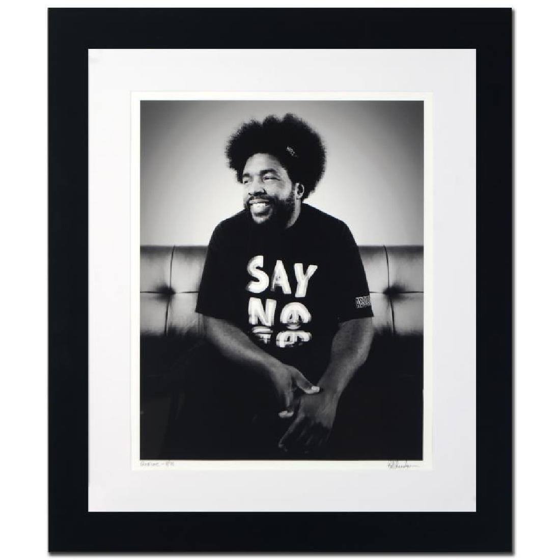 """Questlove"" Limited Edition Giclee by Rob Shanahan"