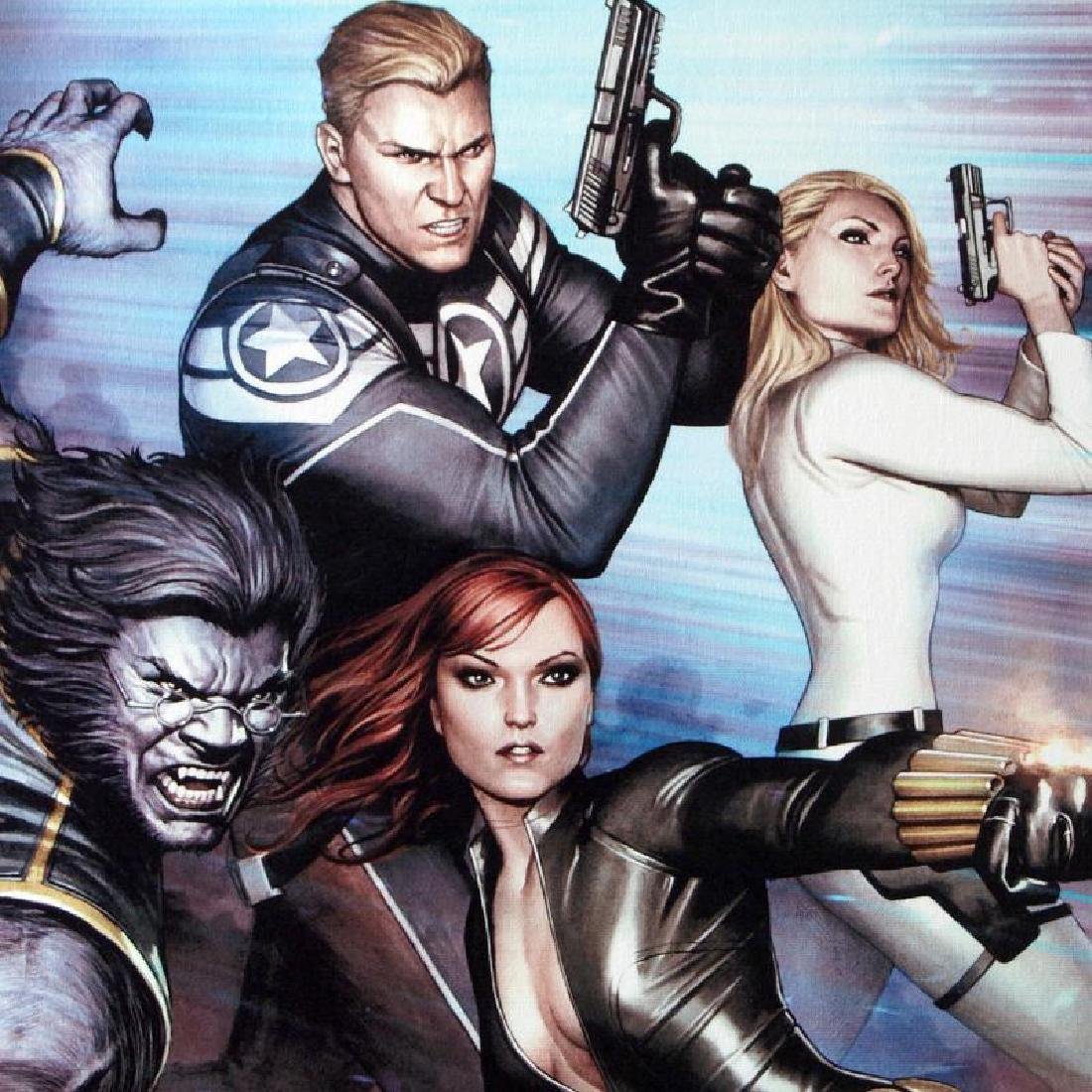 """""""Secret Avengers #13"""" LIMITED EDITION Giclee on Canvas - 3"""
