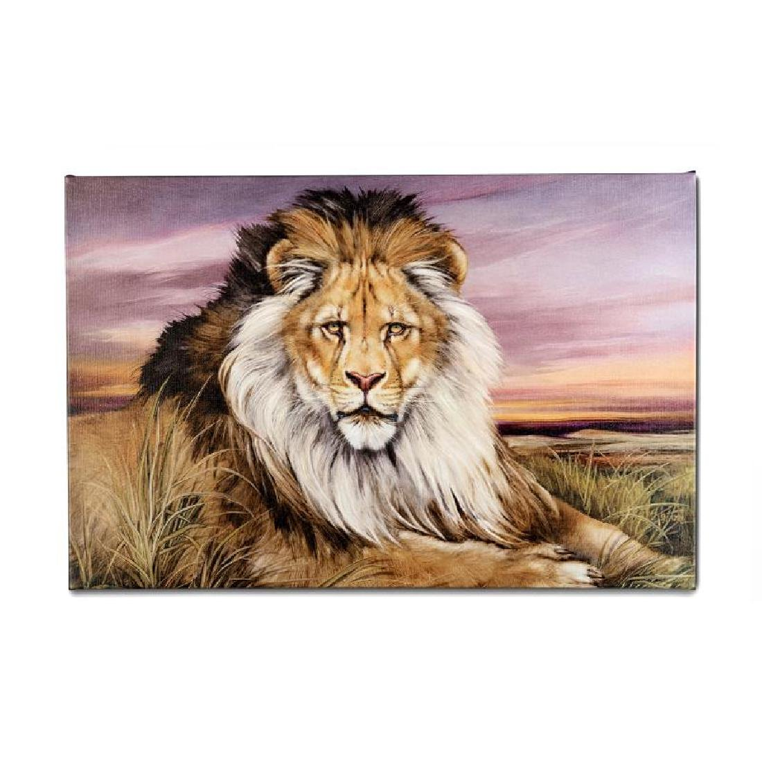 """African Lion"" Limited Edition Giclee on Canvas by - 2"