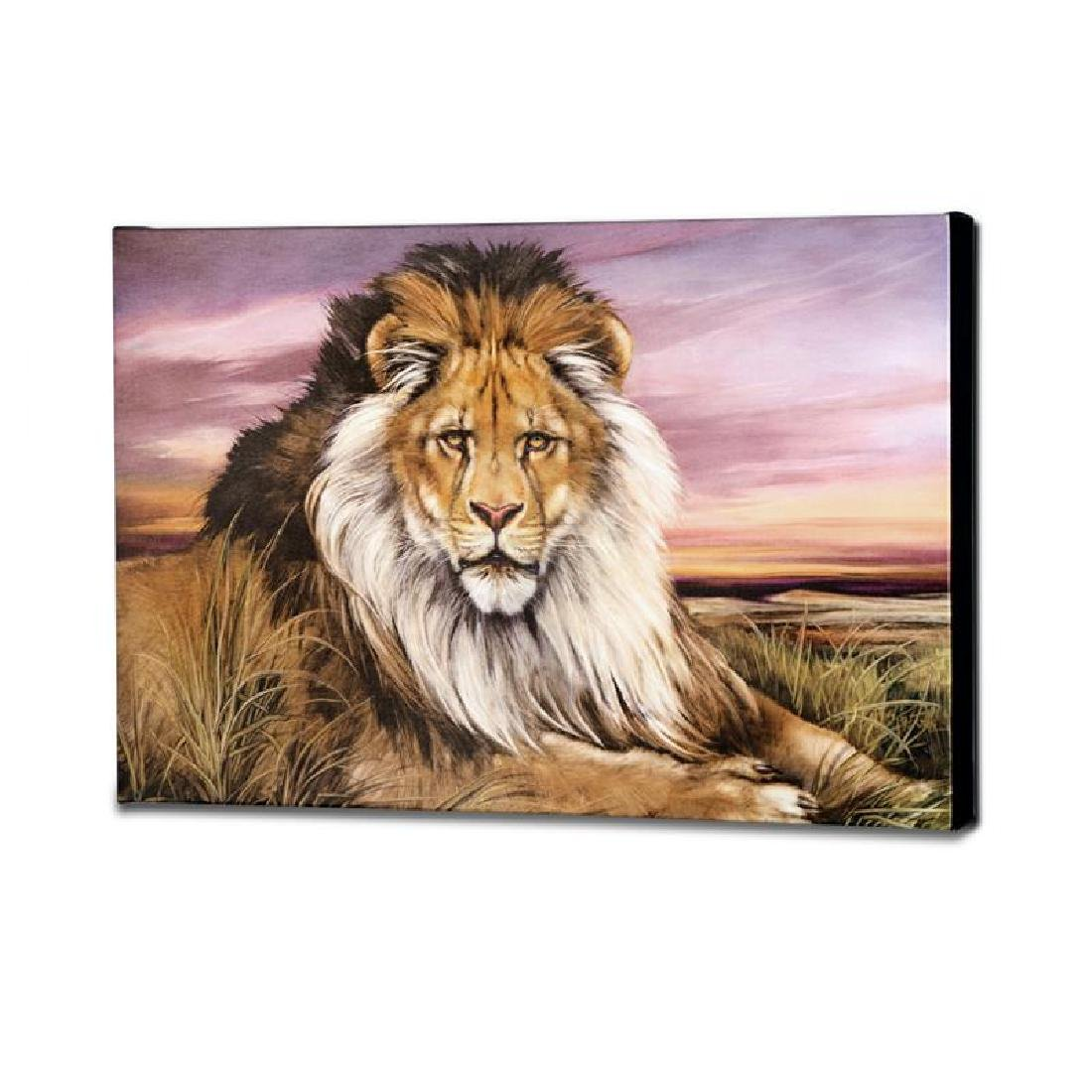 """African Lion"" Limited Edition Giclee on Canvas by - 4"