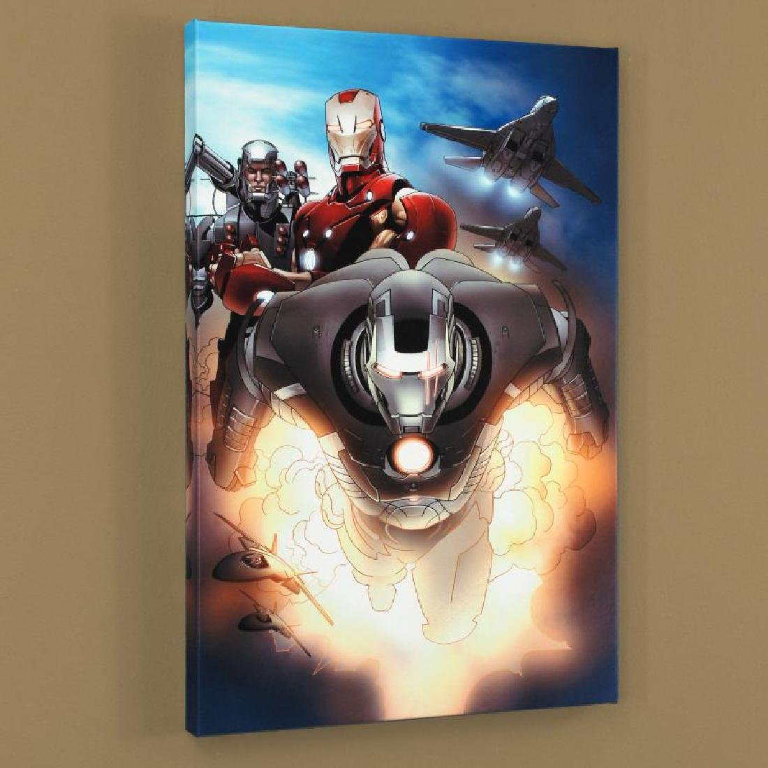 """Iron Man 2.0 #7"" Limited Edition Giclee on Canvas by"