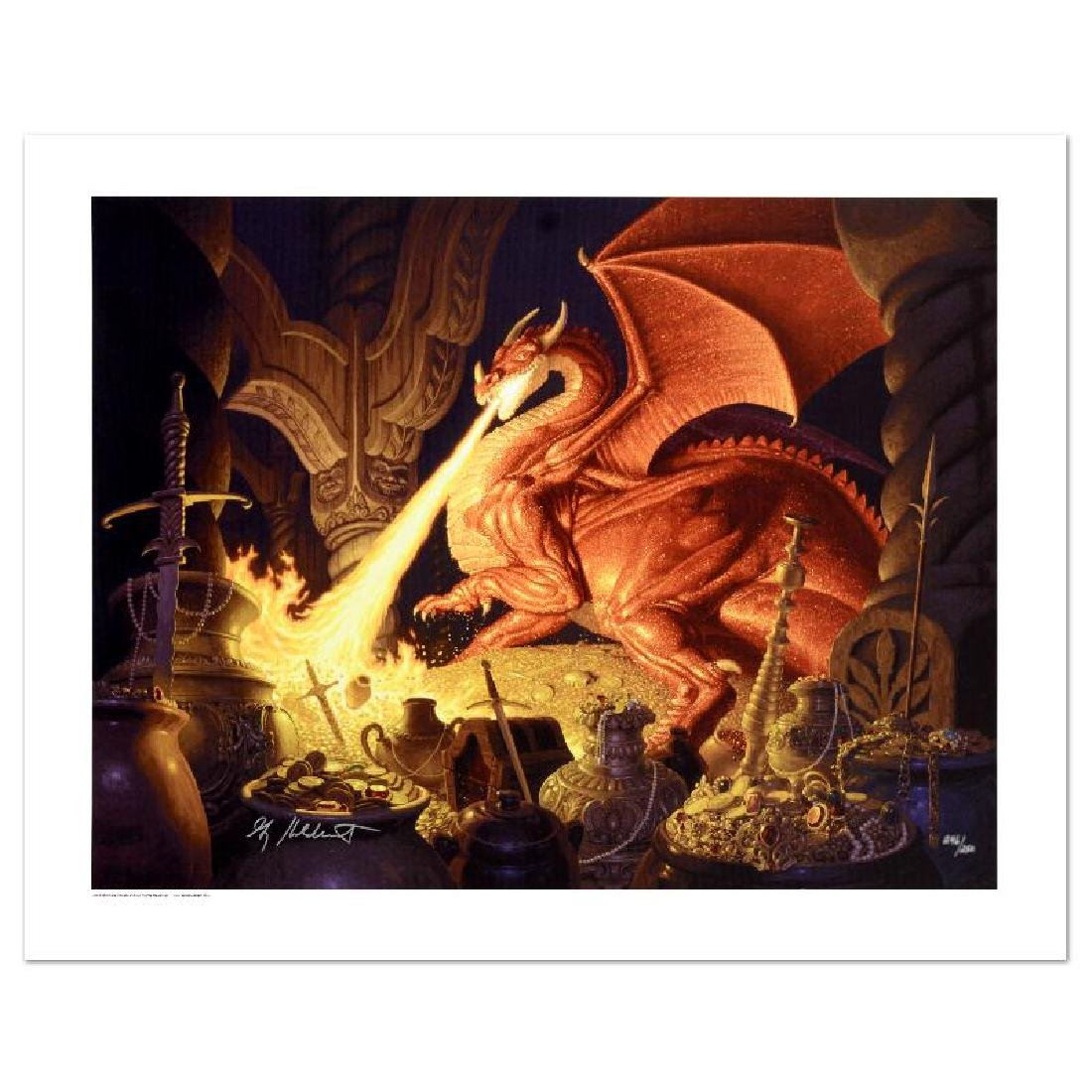 """""""Smaug"""" Limited Edition Giclee on Canvas by The - 2"""
