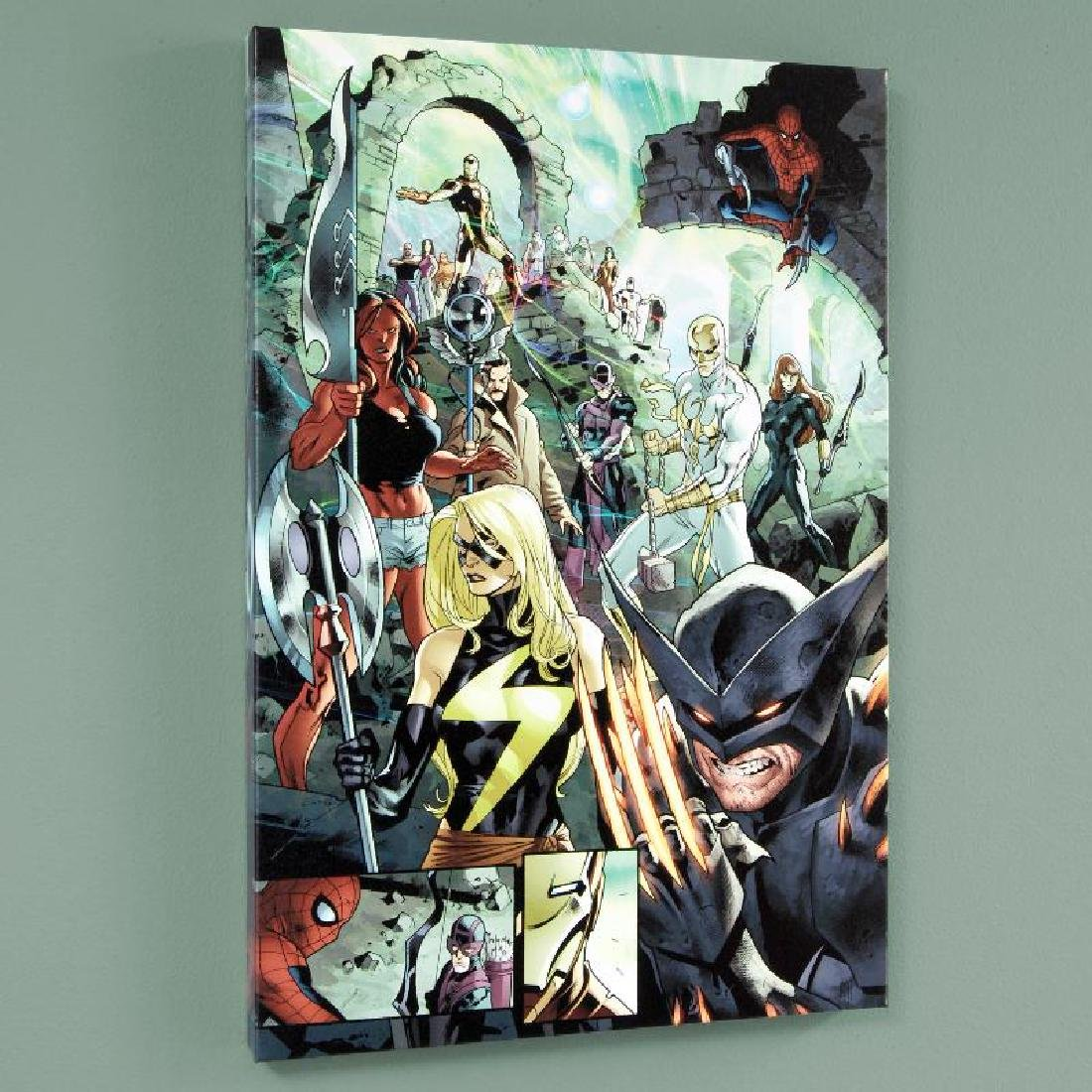 """""""Fear Itself #7"""" LIMITED EDITION Giclee on Canvas by"""