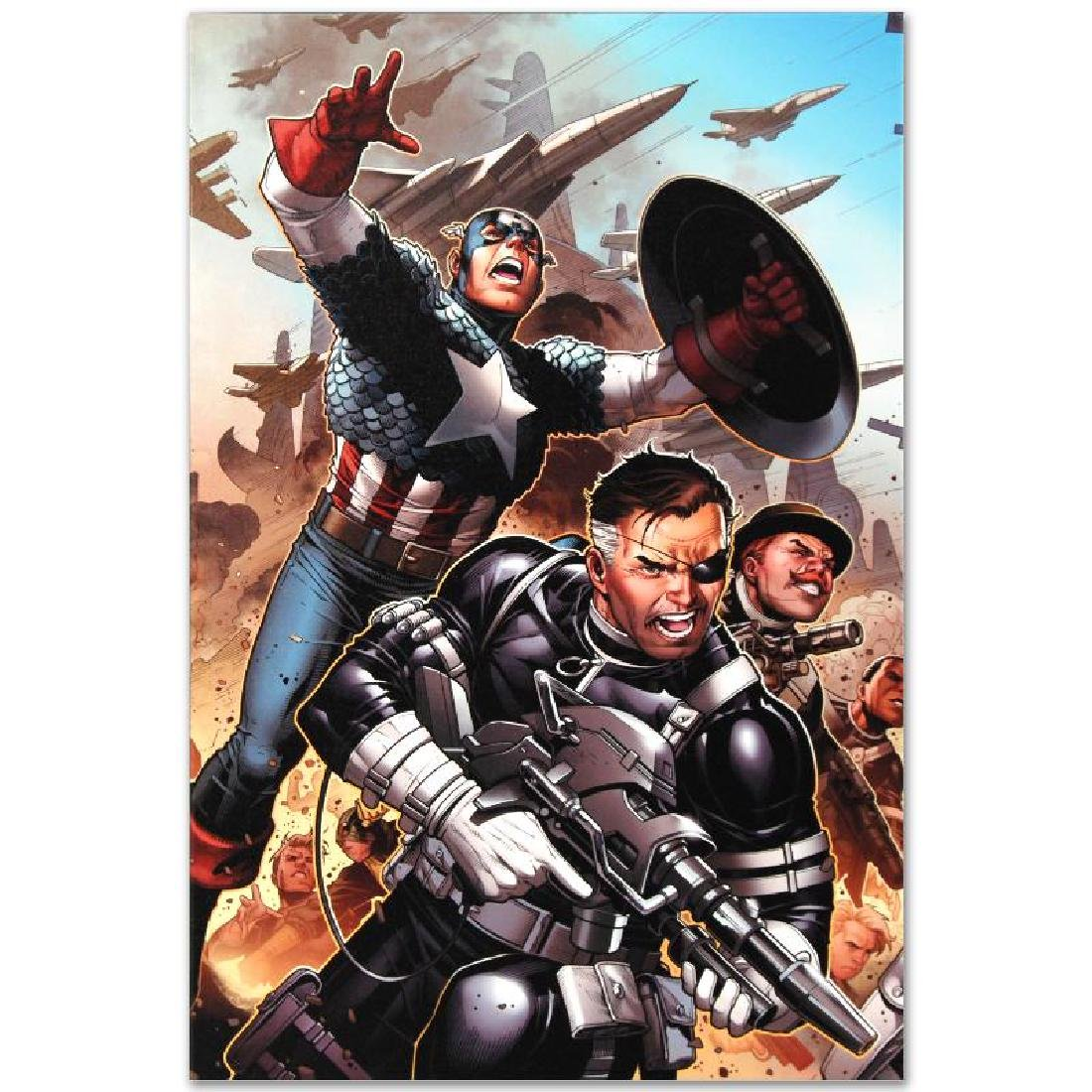 """Secret Warriors #18"" Limited Edition Giclee on Canvas - 2"