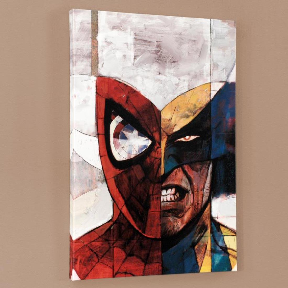 """""""Moon Knight #5"""" Limited Edition Giclee on Canvas by - 4"""