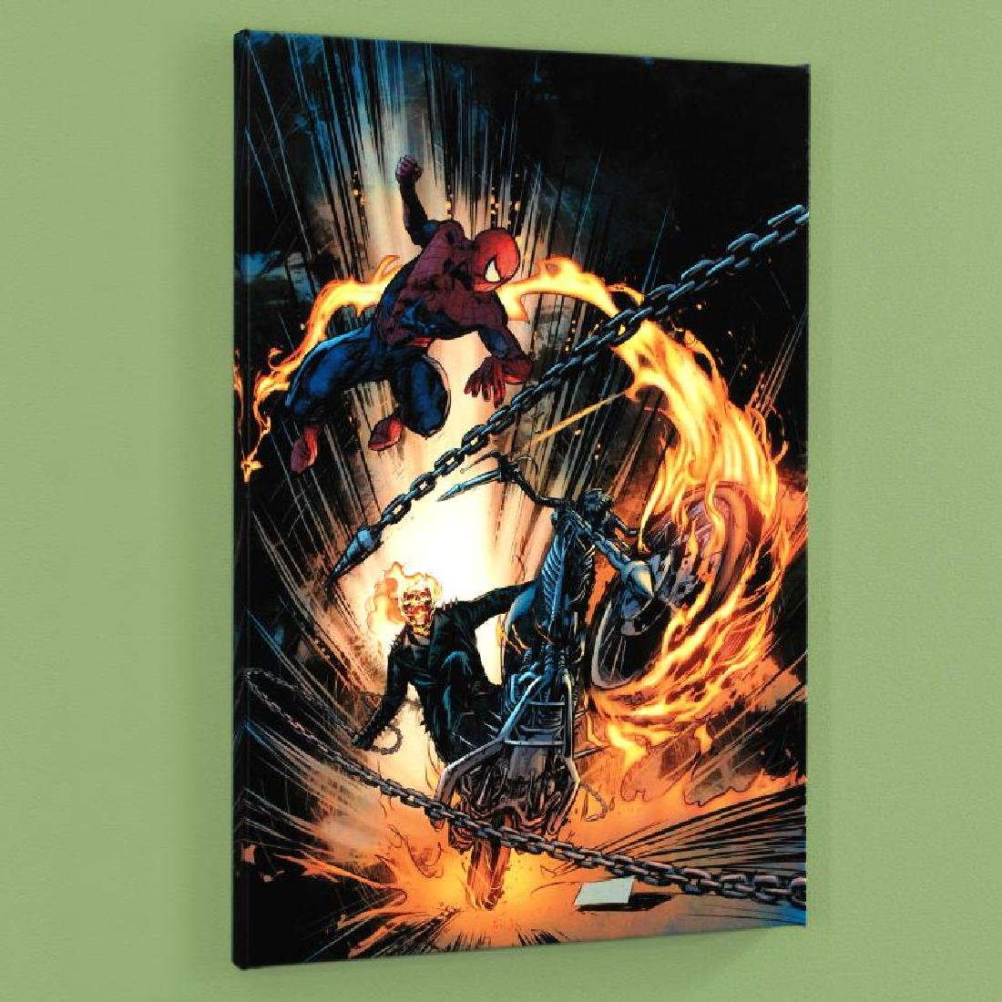 """Amazing Spider-Man/Ghost Rider: Motorstorm #1"" Limited"