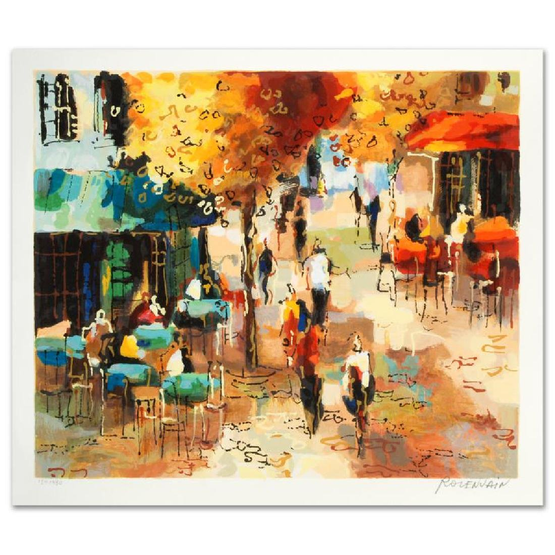 """The Coffee Strip"" Limited Edition Serigraph by Michael"
