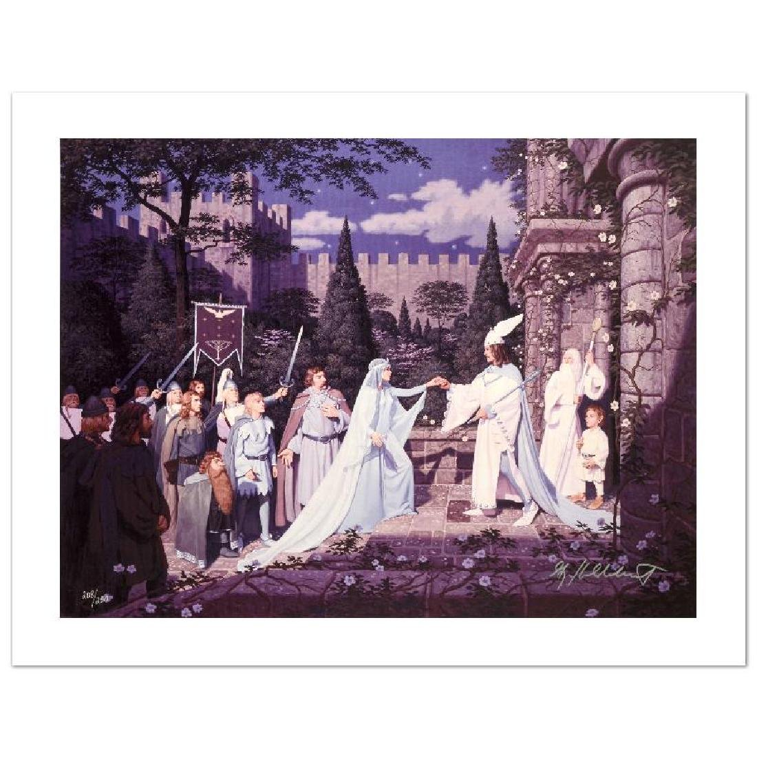 """The Wedding Of The King"" Limited Edition Giclee on"