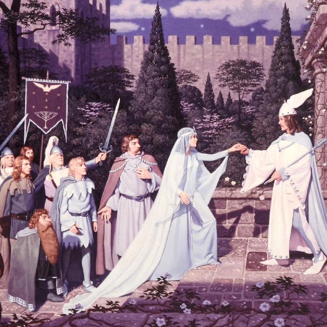 """""""The Wedding Of The King"""" Limited Edition Giclee on - 4"""