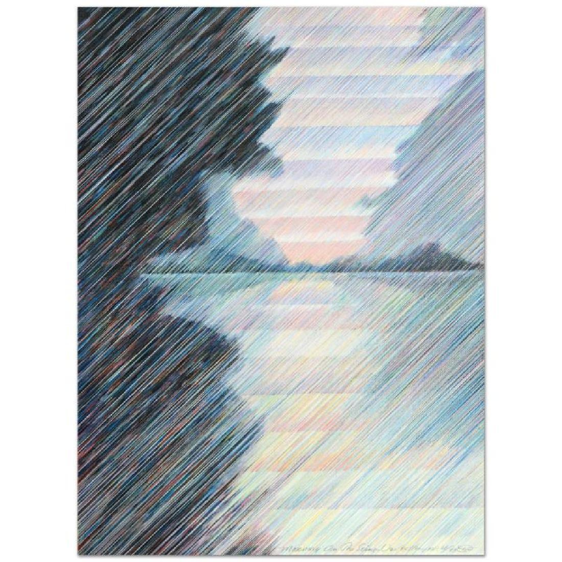 """""""Morning on the Seine"""" Limited Edition Serigraph by"""