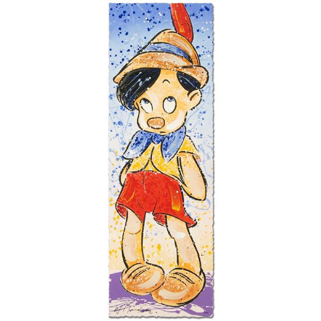 """Pinocchio"" Disney Limited Edition Serigraph (12"" x"