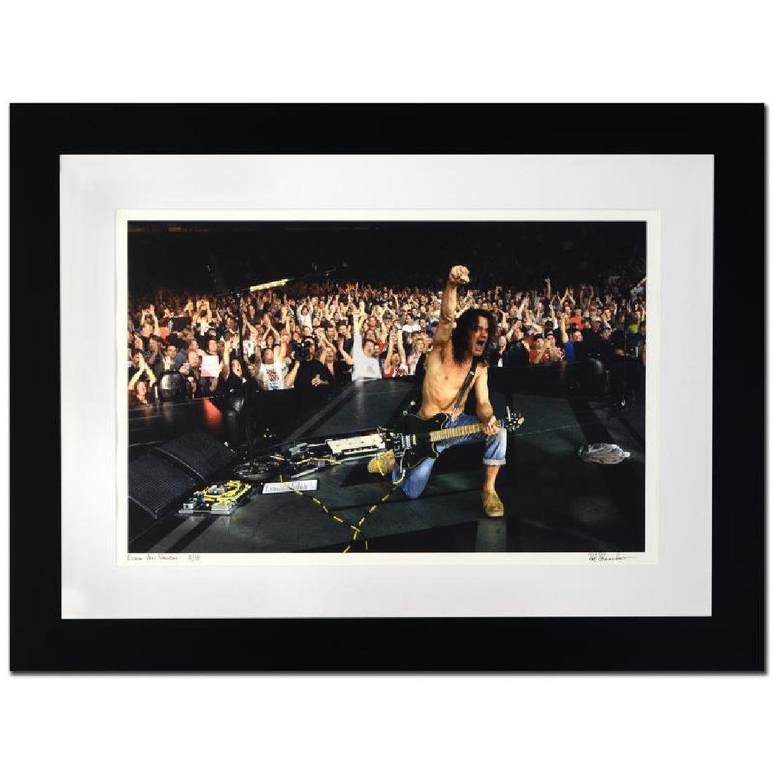 """""""Eddie Van Halen"""" Limited Edition Giclee by Rob"""