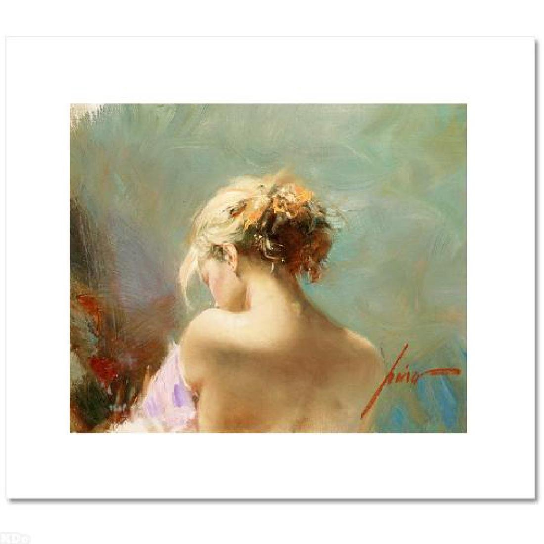 """Desire"" LIMITED EDITION Artist-Embellished Giclee on - 3"