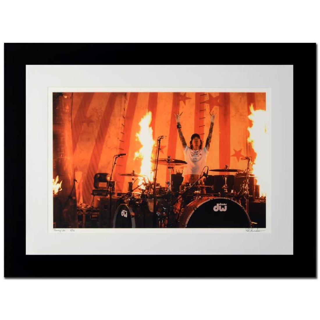 """Tommy Lee"" Limited Edition Giclee by Rob Shanahan"