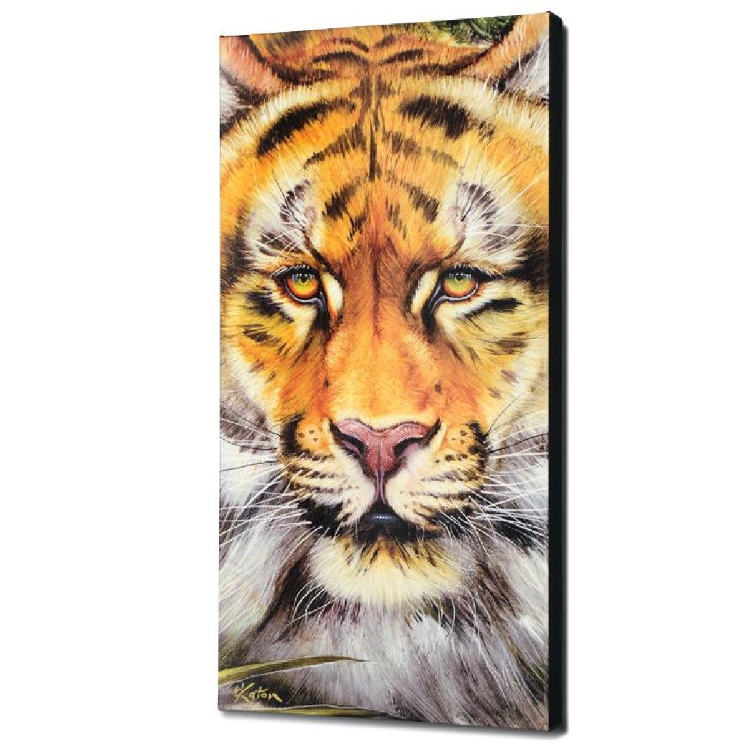 """Tiger Surprise"" Limited Edition Giclee on Canvas by"