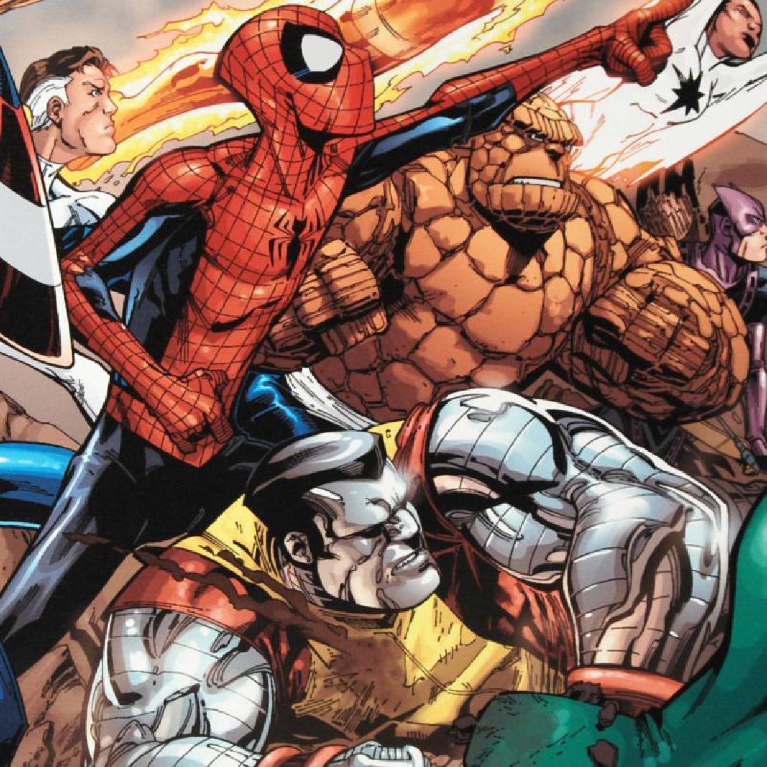 """Spider-Man & The Secret Wars #3"" Limited Edition - 4"