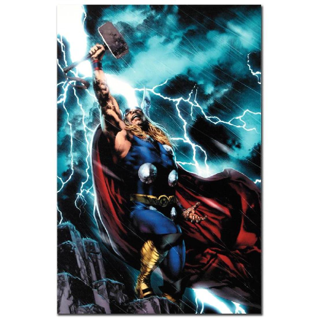 """""""Thor First Thunder #1"""" Limited Edition Giclee on - 3"""