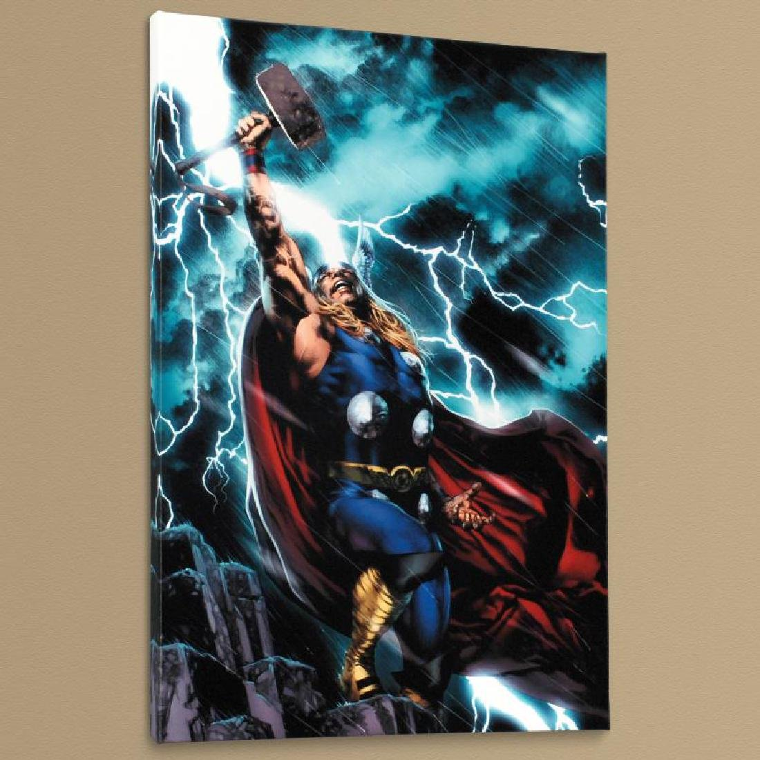 """""""Thor First Thunder #1"""" Limited Edition Giclee on - 4"""