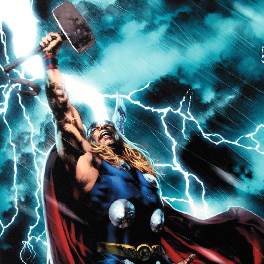 """""""Thor First Thunder #1"""" Limited Edition Giclee on - 5"""