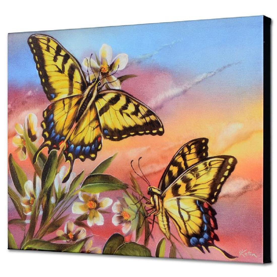 """Tiger Swallowtail"" Limited Edition Giclee on Canvas by"
