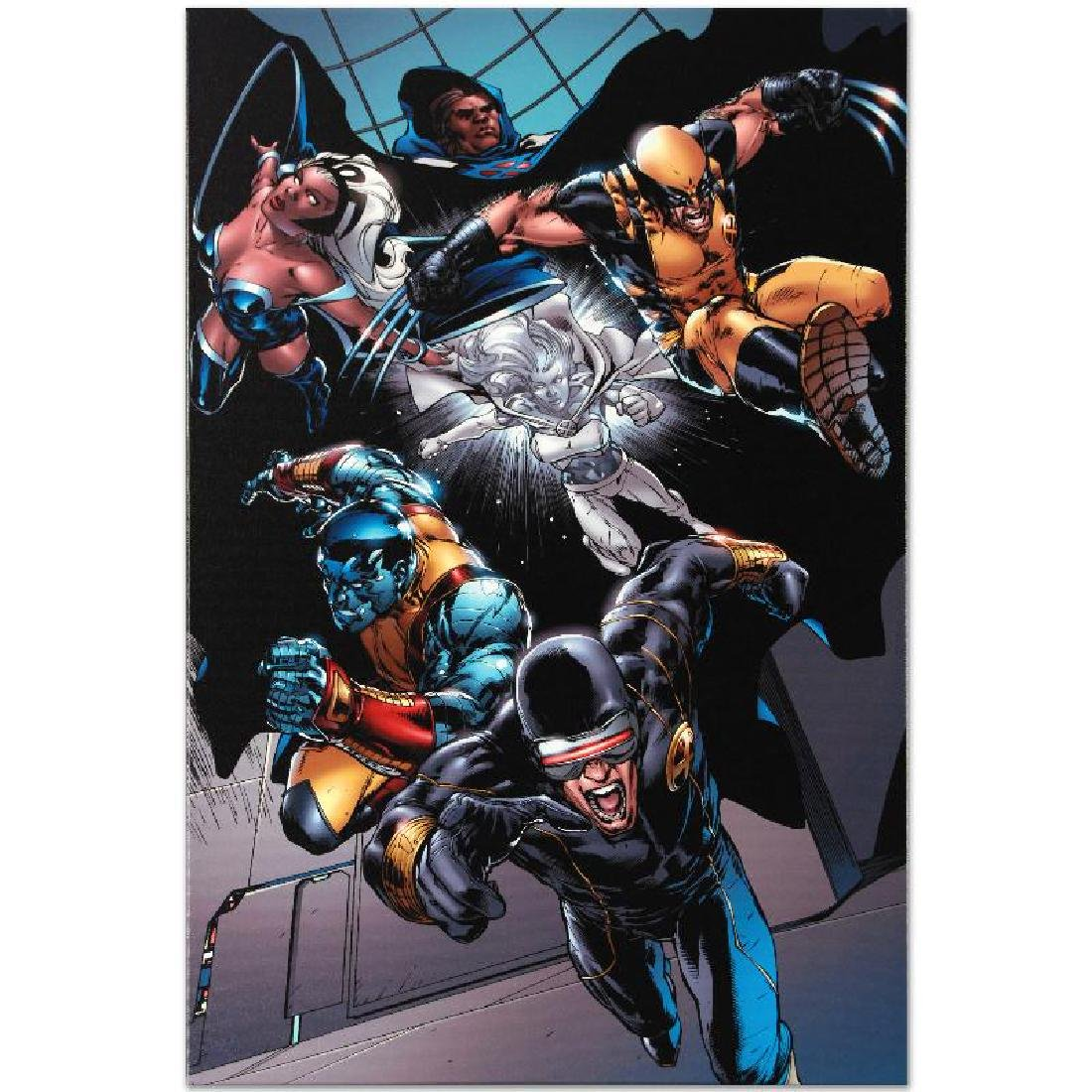 """""""X-Men vs. Agents of Atlas #1"""" Limited Edition Giclee - 2"""