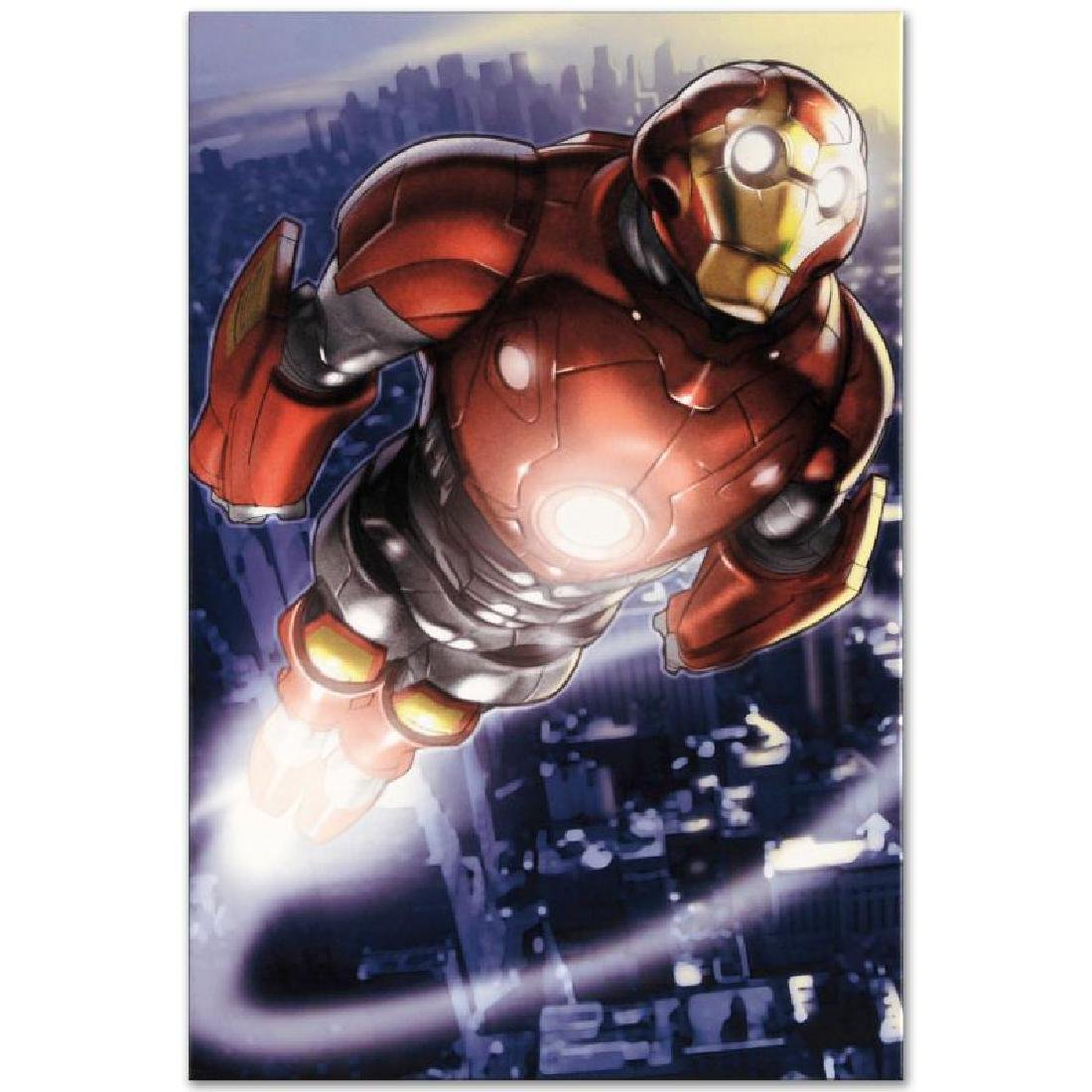 """""""Ultimate Iron Man II #3"""" LIMITED EDITION Giclee on - 2"""