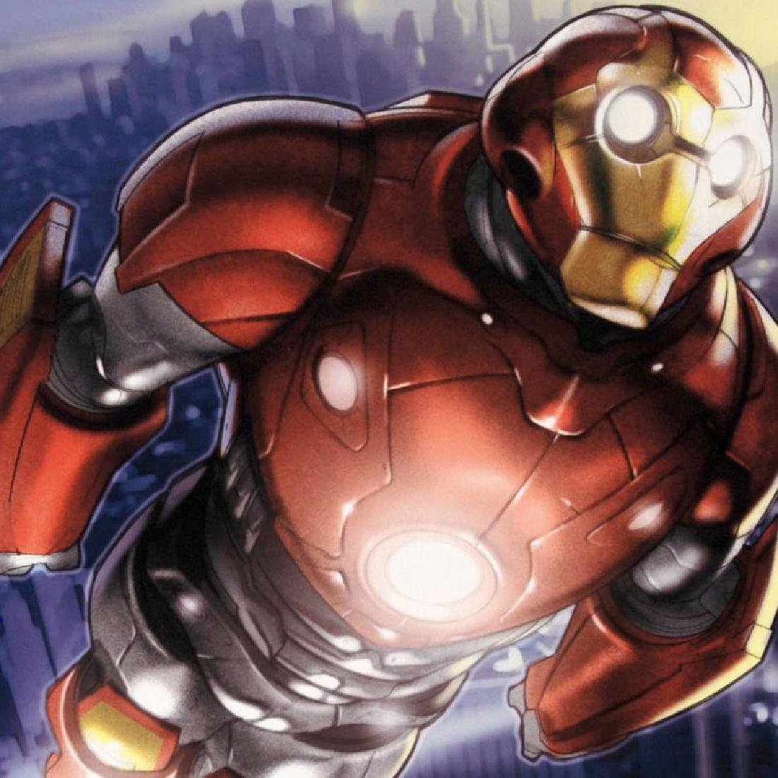 """""""Ultimate Iron Man II #3"""" LIMITED EDITION Giclee on - 4"""