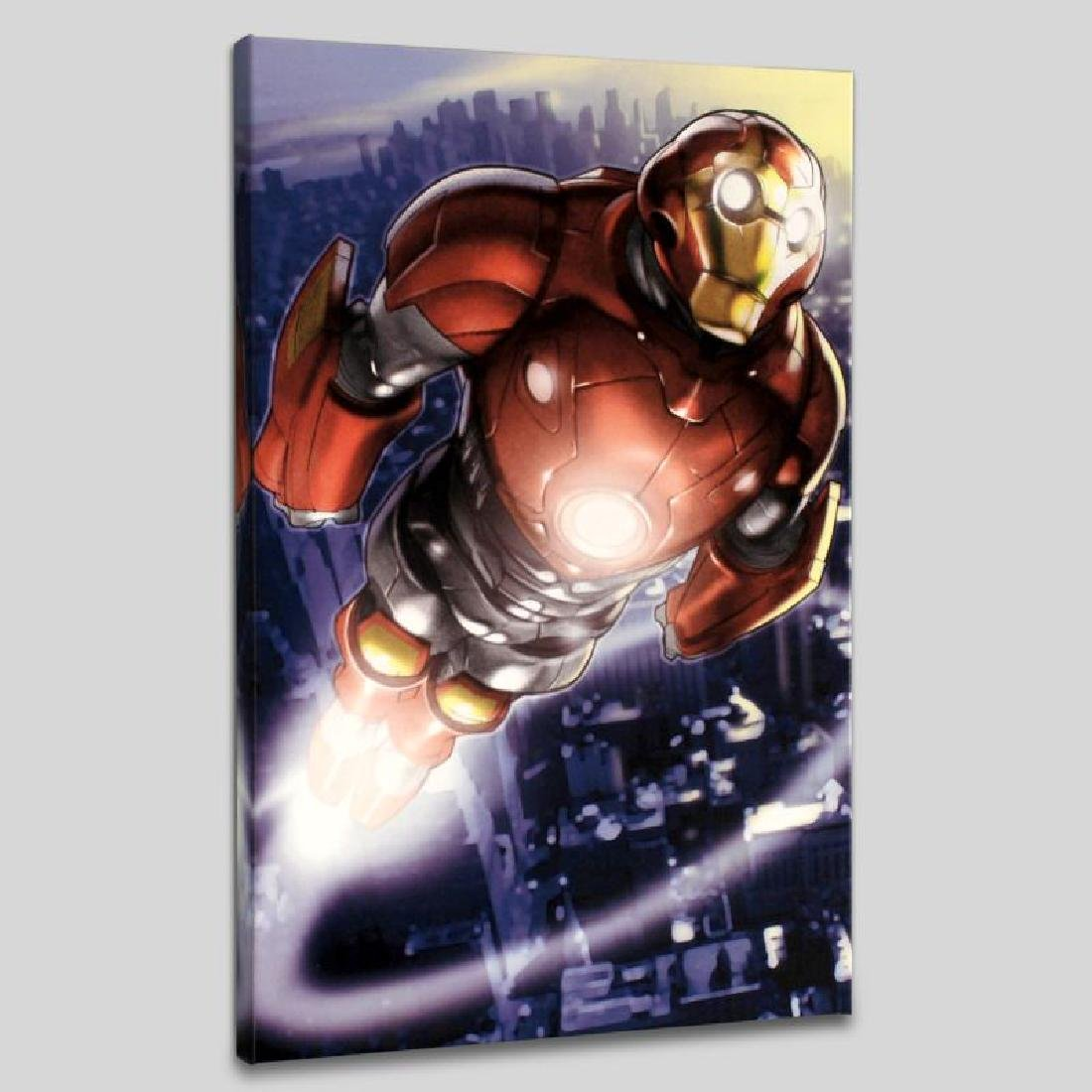 """""""Ultimate Iron Man II #3"""" LIMITED EDITION Giclee on - 6"""