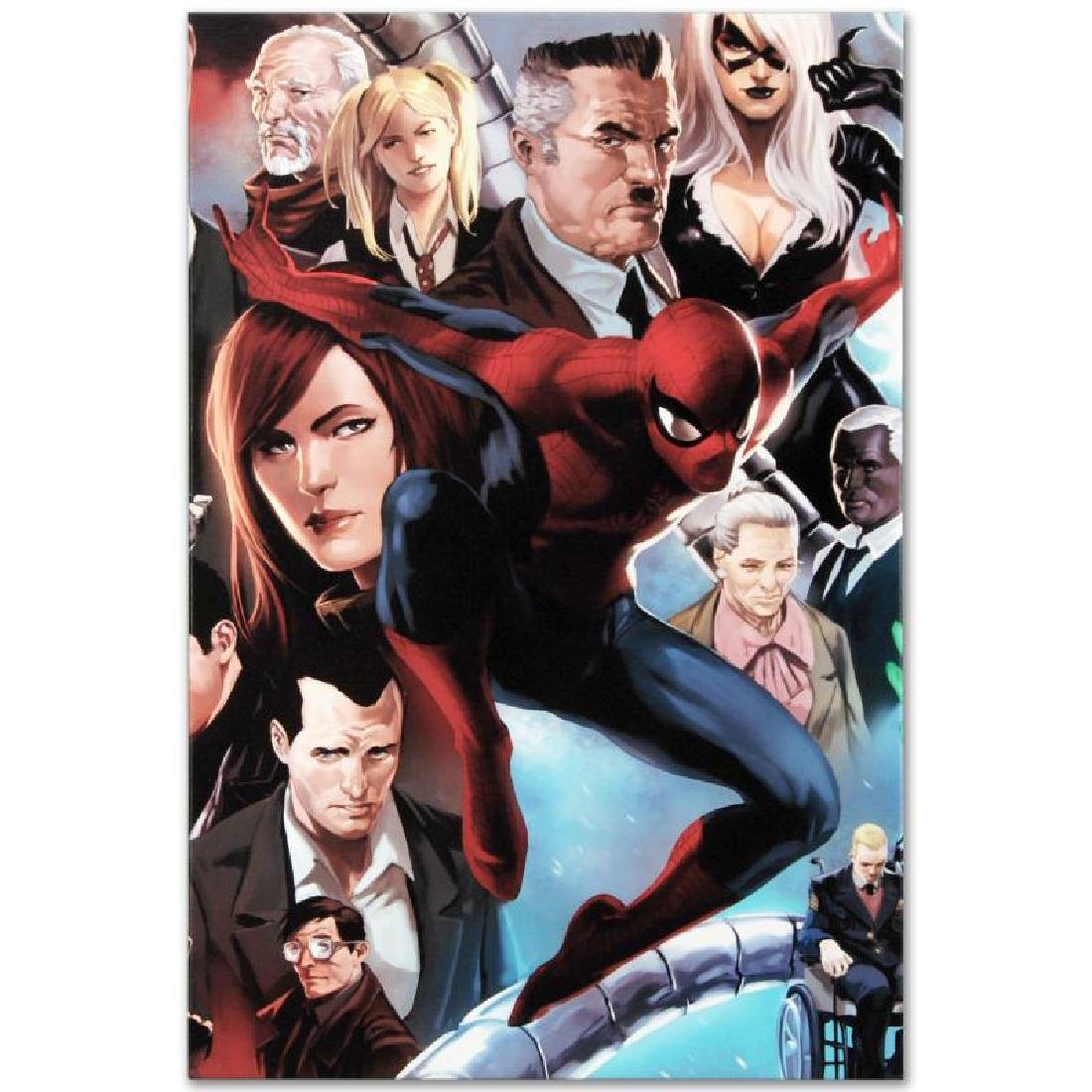 """""""Amazing Spider-Man #645"""" Limited Edition Giclee on - 6"""