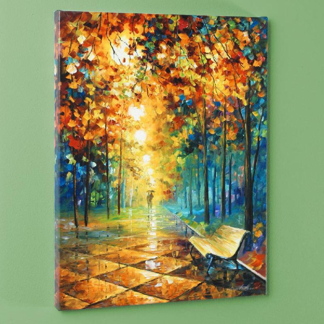 Misty Park LIMITED EDITION Giclee on Canvas by Leonid