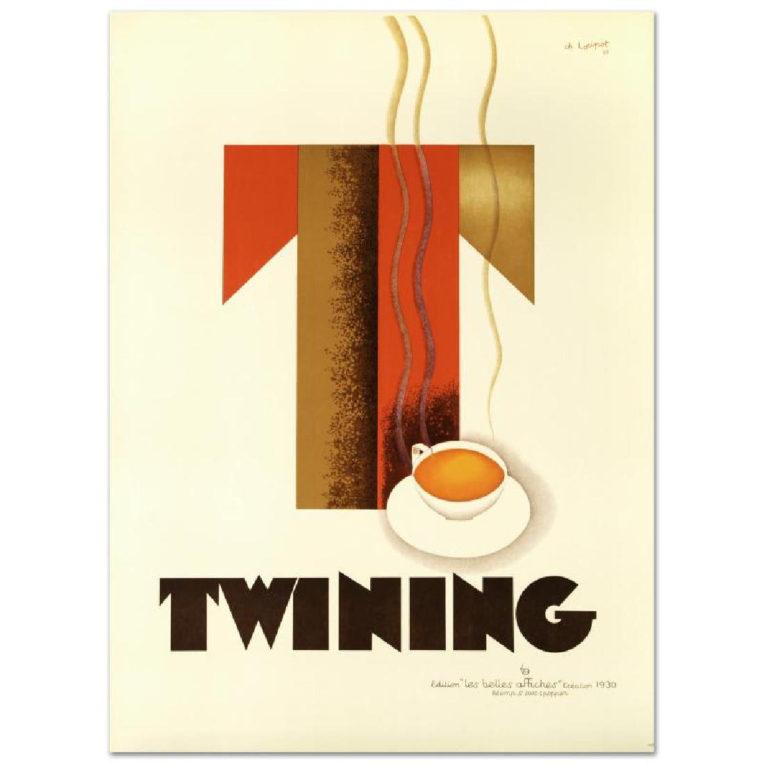 """Twining"" Hand Pulled Lithograph (38"" x 52.5"") by the"