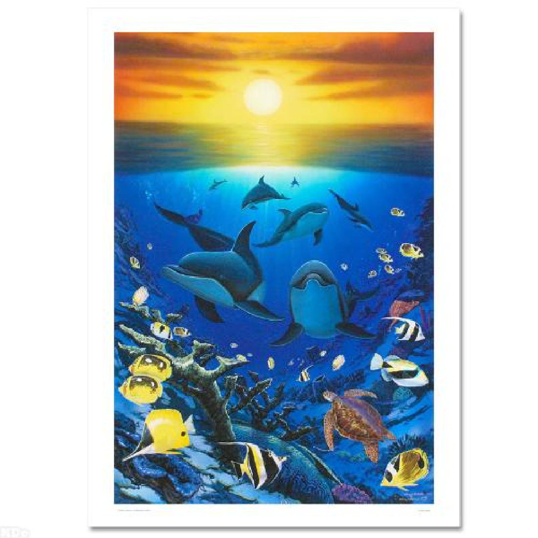 """""""Ocean Calling"""" Limited Edition Giclee on Canvas by - 3"""