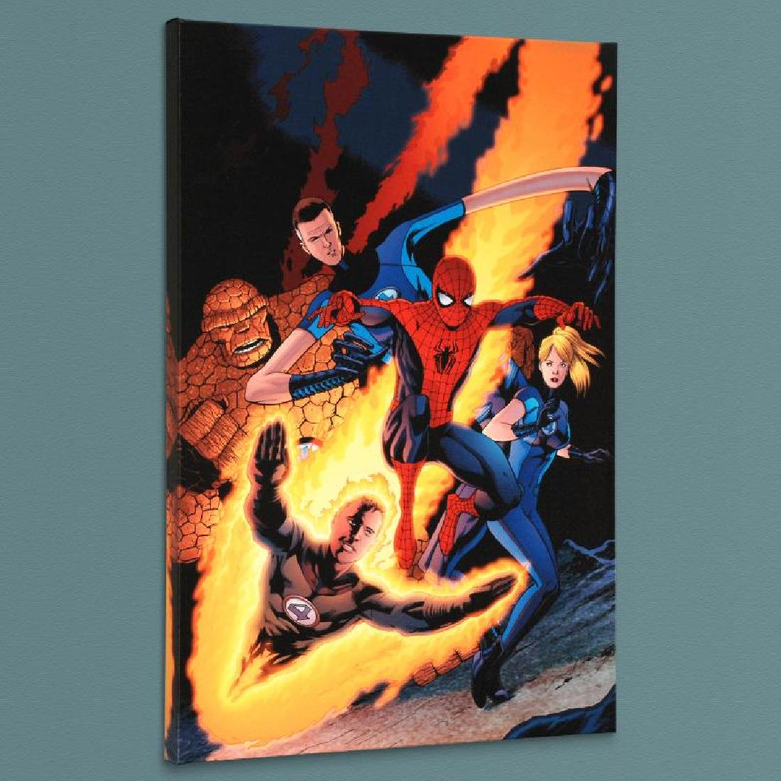 """The Amazing Spider-Man #590"" Limited Edition Giclee on"