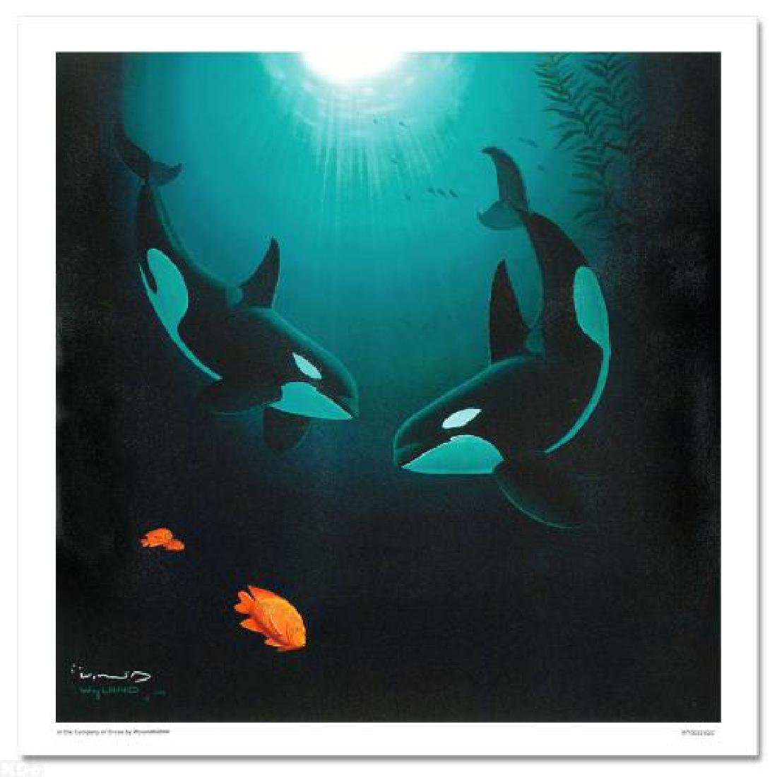 """In the Company of Orcas"" LIMITED EDITION Giclee on - 3"