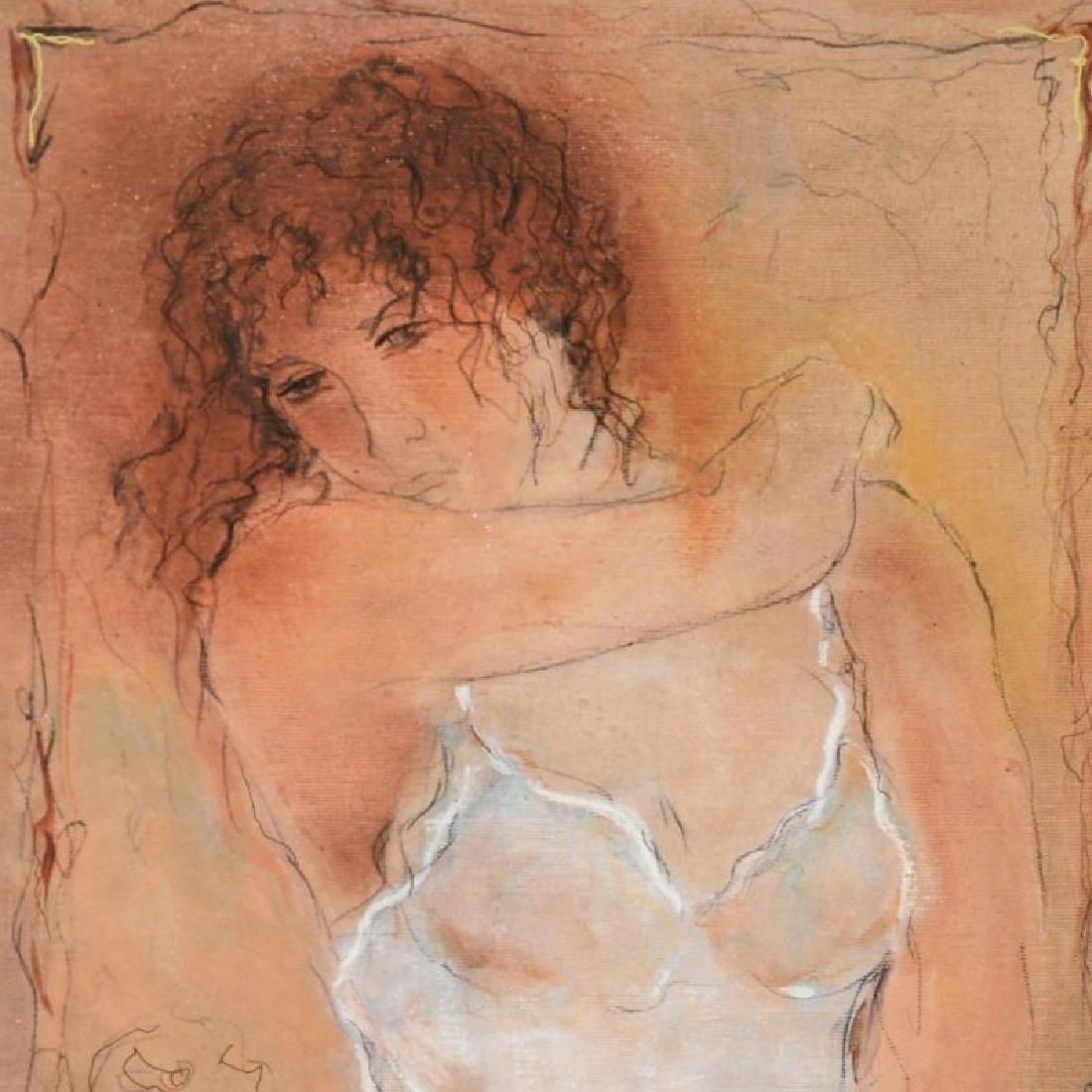 """""""Naivety"""" Limited Edition Serigraph by Batia Magal - 4"""